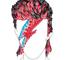 Aladdin Sane  by liselliart