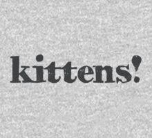 Kittens! One Piece - Long Sleeve
