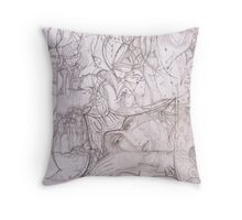 """""""Now And Then"""" Throw Pillow"""