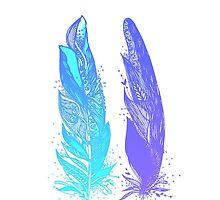 Feathers by MZawesomechic