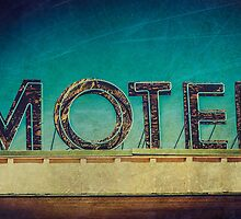 Vintage Motel Sign by Honey Malek