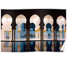 Sheikh Zayed Grand Mosque 3 Poster