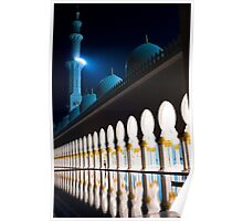 Sheikh Zayed Grand Mosque 4 Poster