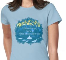 Bridge over Troubled Water Womens Fitted T-Shirt