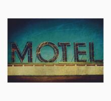 Vintage Motel Sign One Piece - Short Sleeve