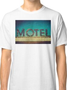 Vintage Motel Sign Classic T-Shirt