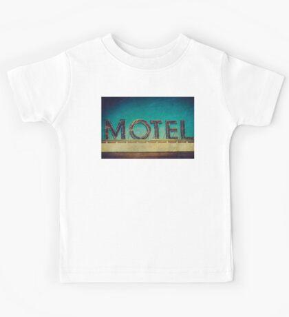 Vintage Motel Sign Kids Tee