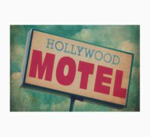 Hollywood Motel Sign Kids Tee