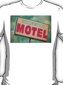 Hollywood Motel Sign T-Shirt