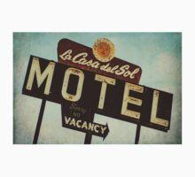 La Casa Del Sol Motel Sign One Piece - Short Sleeve