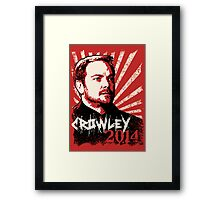 Crowley 2014 - King of Hell Framed Print