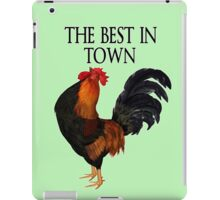 The Best in Town  iPad Case/Skin