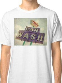 Crown Car Wash Neon  Classic T-Shirt