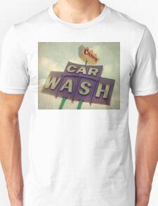 Crown Car Wash Neon  T-Shirt