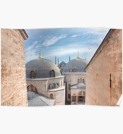 Hagia Sophia Sees Sultanahmet Poster