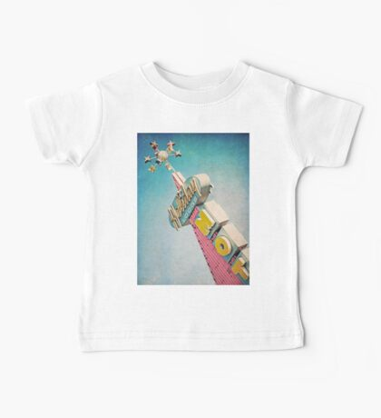 Holiday Lodge Googie Sign Baby Tee