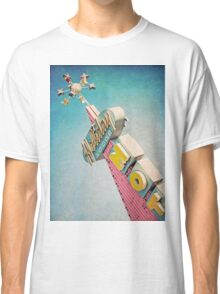 Holiday Lodge Googie Sign Classic T-Shirt