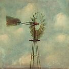 Vintage Windmill by Honey Malek