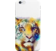 The Elusive - Tiger Watercolor Painting iPhone Case/Skin