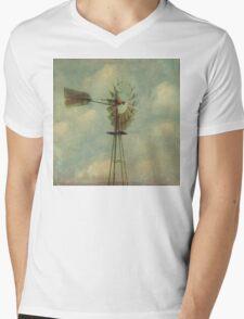 Vintage Windmill Mens V-Neck T-Shirt