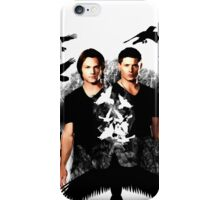 Supernatural's raven case iPhone Case/Skin
