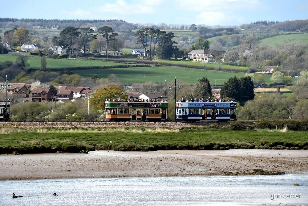 Trams At Seaton, Devon,UK by lynn carter
