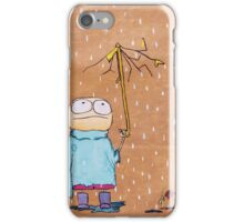 Eddy is having a bad day iPhone Case/Skin