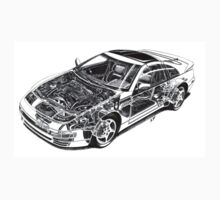 Z32 Cutaway Tee by Godfoot808