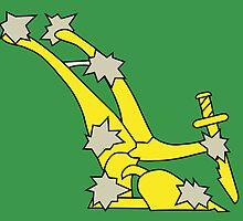 Starry Plough Flag  by abbeyz71