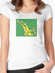 Starry Plough Flag  Women's Fitted Scoop T-Shirt