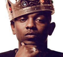 """""""King Kendrick"""" - Good Kid, m.A.Ad City Sticker"""