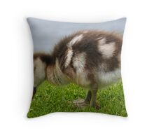 Egyptian Gosling Throw Pillow