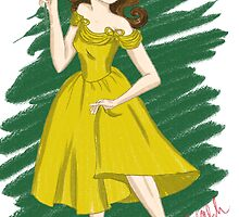 Retro Belle by Maria Mondloch