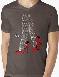 Street Walk Mens V-Neck T-Shirt