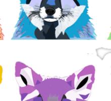 Fox legion. Sticker