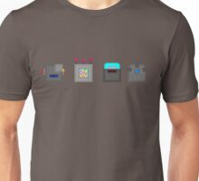 PopCubes: Robots Unisex T-Shirt