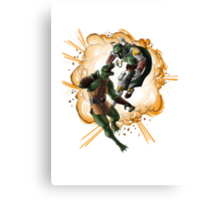 An Explosion of Awesome Canvas Print