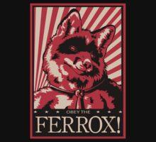 Obey the Ferrox (Red) by preyfar