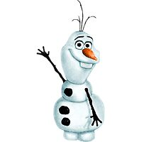 """Olaf the Snowman from """"Frozen"""" by PhoebeAnnabel"""