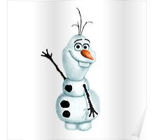 """Olaf the Snowman from """"Frozen"""" Poster"""