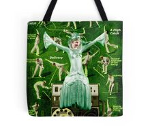 Critical Moments in a Cricket Match. Tote Bag