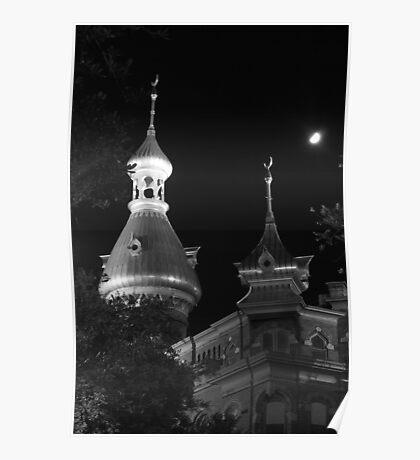 UT Minarets Poster