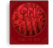 time to win Canvas Print