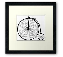 Hi wheeler Framed Print
