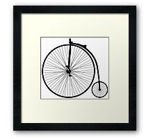 Hi wheeler Framed Print