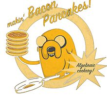 Makin bacon pancakes by frizzlefrazzle