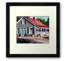 Marie Laporte House - Ste Genevieve Framed Print