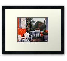 Inn Ste Gemme Beauvais - Ste Genevieve Framed Print