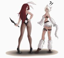Katarina and Riven Swap Skins by Randybutternubs