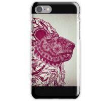 Crimson Lion iPhone Case/Skin